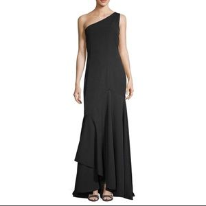 Jay Godfrey One Shoulder Carmen Gown